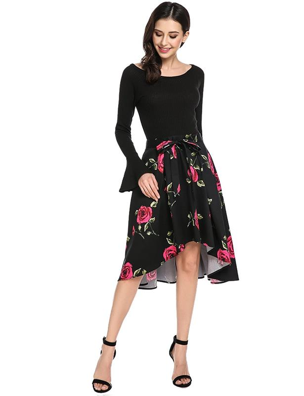 f45439105126 High quality women plus size maternity clothes sexy long sleeve frock beach  thailand clothing no minimum