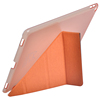 clear back cover transformers stand leather case for ipad pro