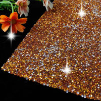 Shininglife Brand 3D sticker self adhesive hotfix rhinestone sheet