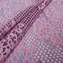 M009 Big promotion Custom French lace nylon chemical embroidery cord lace fabric