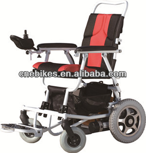 New design Folding lightweight power wheel chair for elderly disabled
