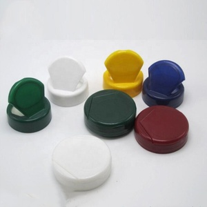 colorful 38mm Plastic Material and butterfly flat Flip Top Cap Type plastic cap,Health care bottles cap