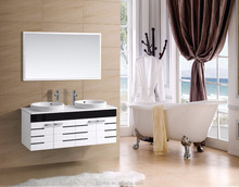 chinese factory modern PVC bathroom vanity cabinet
