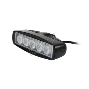 15W led work light bar spot flood for Caterpillar Case Johndeere New Holland Terex Volvo Doosan Kubot Claas Agco truck tractors