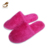 High Quality Waffle Embroidery Disposable Hotel Slippers