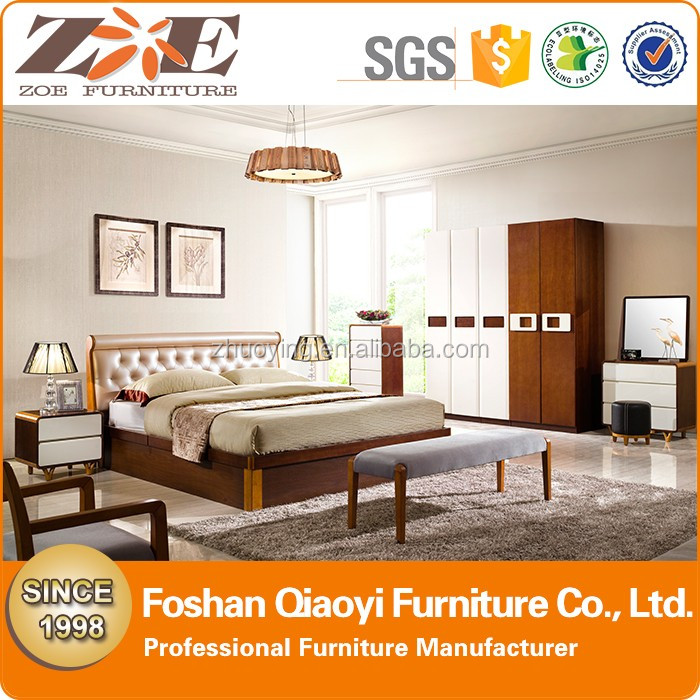 Affordable Luxury Bedroom Sets ZOE AG041 High Quality Cheap Luxury Economic Valentin Modern Bedroom Set