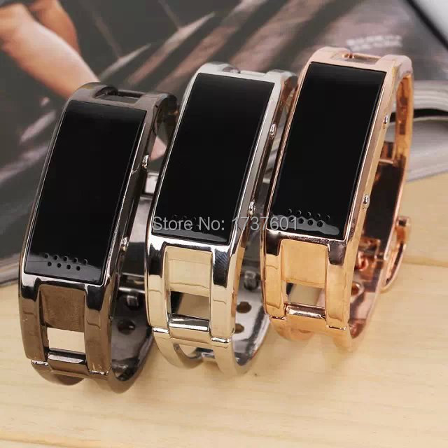 Bluetooth Watch D8 Full Steel Smart Bracelet Sync Phone LED Digital Watch With