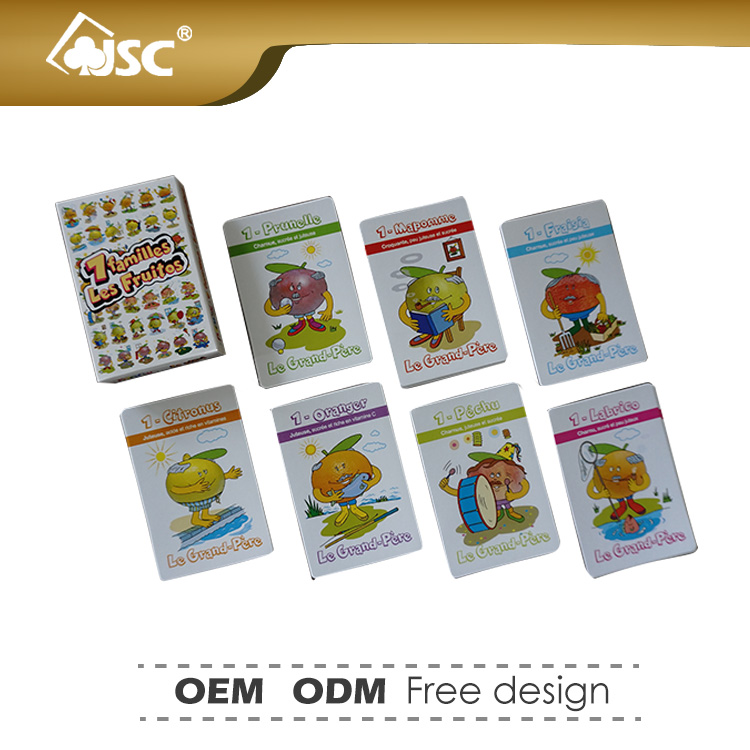 China Factory Custom Playing Cards Game