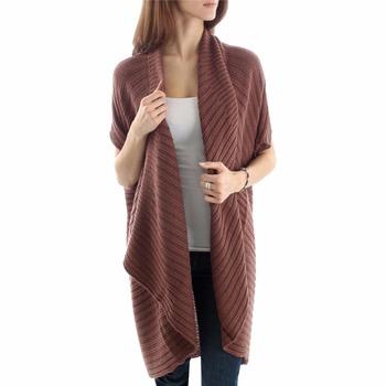 Striped Sleeveless Sweater Oversized Dolman Sweater - Buy ...