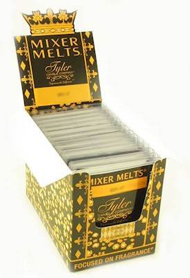 Case of 14 Tyler Scented Wax Mixer Melts or Wax Tarts - COWBOY