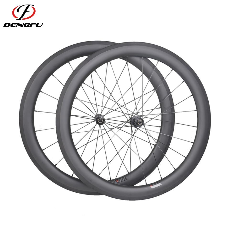 Carbon Fiber Wheels >> Dengfu 700c 56mm Clincher Carbon Fiber Wheels Road Bicycle Bike Carbon Wheelset Racing Set Buy Bike Racing Wheels Bicycle Wheel Aero Spoke Carbon