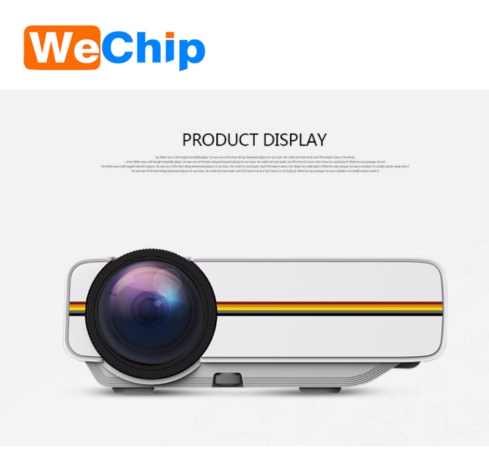 Best Selling mini portable projector YG400 smart video projector mobile phone