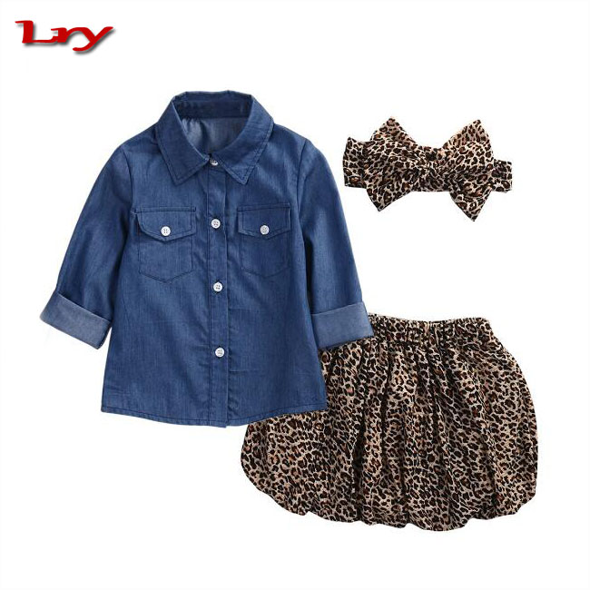Kids clothing autumn princesse girls's suit children's clothing han edition baby girl boutique clothing sets OEM