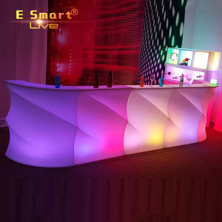 Led Small Bar Counter For Home Cafe Design