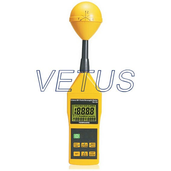 Frequency 10MHz~8GHz 3 Electrosmog RF Field Microwave EMF Meter tester TM-196 3 - Axis RF Field Strength Meter
