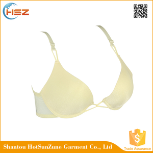 HSZ-58075 In Stock Push Up Nipple Bra School Girls Bra and Sets Underwear For Women