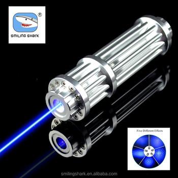 High Powered Portable Blue Laser Flashlight Pointer Blue Beam Lazer Torch  Cigarette Burn Match Led Lamp - Buy Blue Laser Pointer Flashlight,Laser