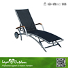 LY Professional Furniture Manufactory leisure outdoor polywood chaise lounge outdoor patio furniture