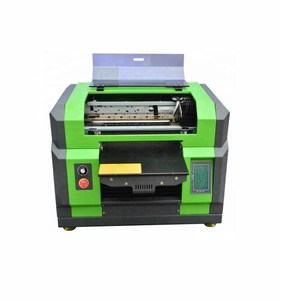 High technology multifunction a3 vinyl laser 8 color CMYK+WWWW flatbed uv printer