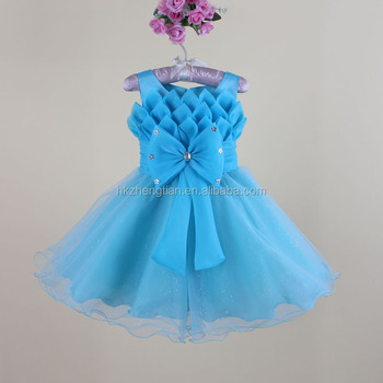 Neue Modell Mädchen Pailletten Tüll Stoff Blume Tutu Abendkleid ...