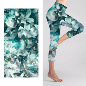 2018 Custom Print Yoga legging fabric Knitted for Sportswear
