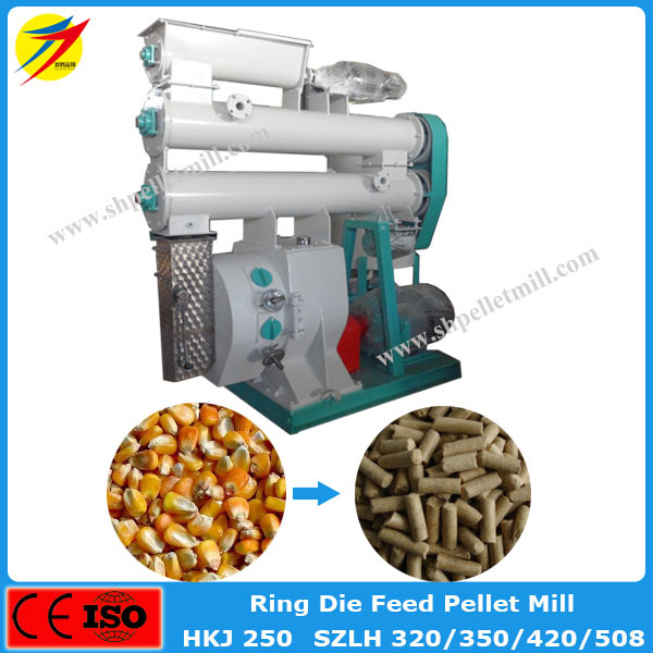10 Th Poultry Farming Chicken Feed Pellet Mill Machine Equipment In