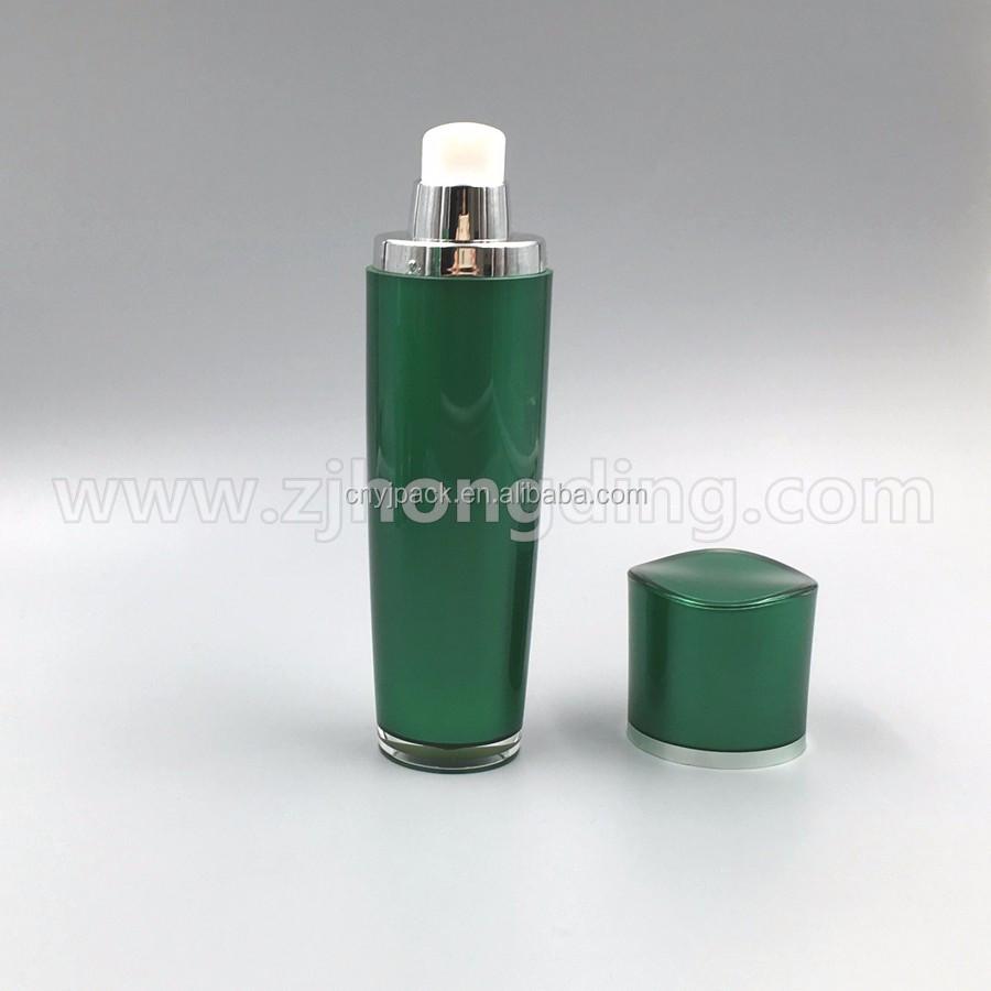 2016 New Style Green Acrylic Lotion Bottle With Spray/hemp Plastic ...