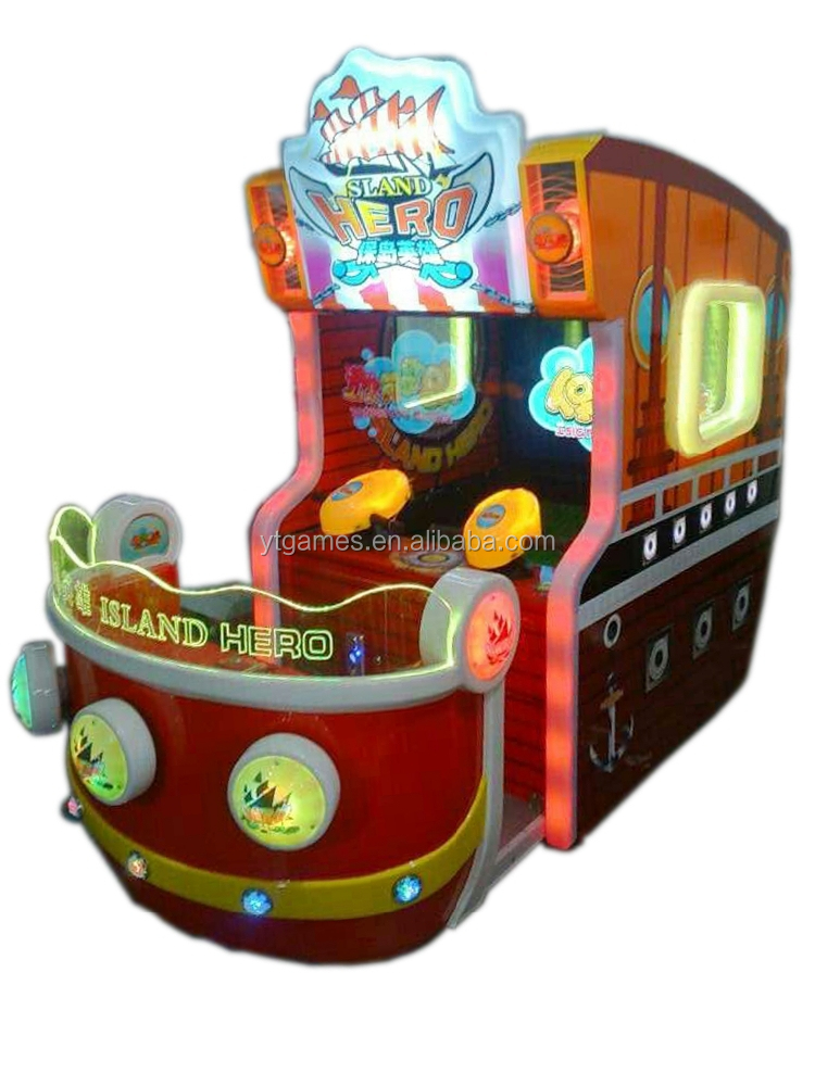 55 LCD Sland hero screen water shooting game machine