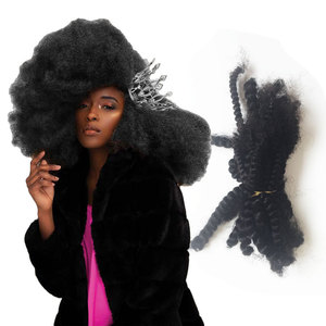 Trade Assurance Accept Self Order Available Dreadlock Style Wholesale Afro Puff Hair Extension