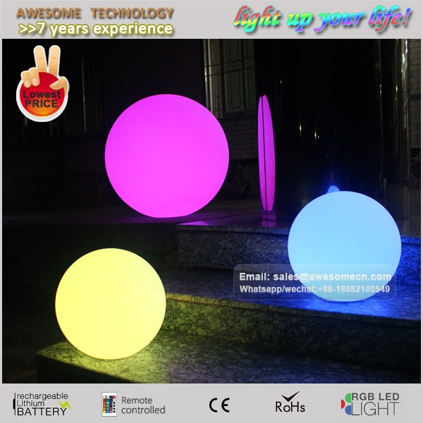 Any Sizes Giant Glowing Orbs Led