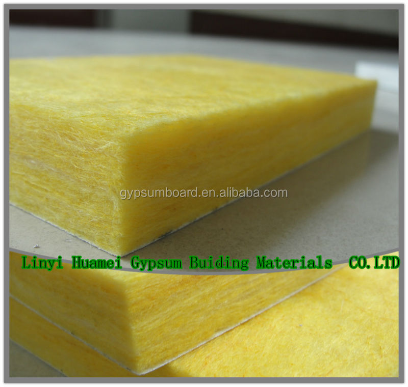 Glass Wool Ceiling and Fiberglass Ceiling insulation / Sound proof cubicle material insulation glass wool ceiling/wall