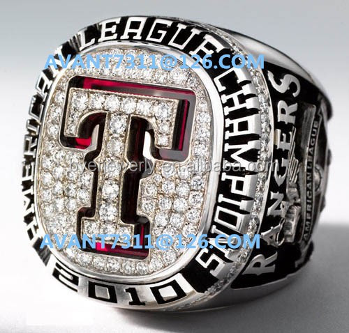 2010 Texas Rangers American League Championship Ring