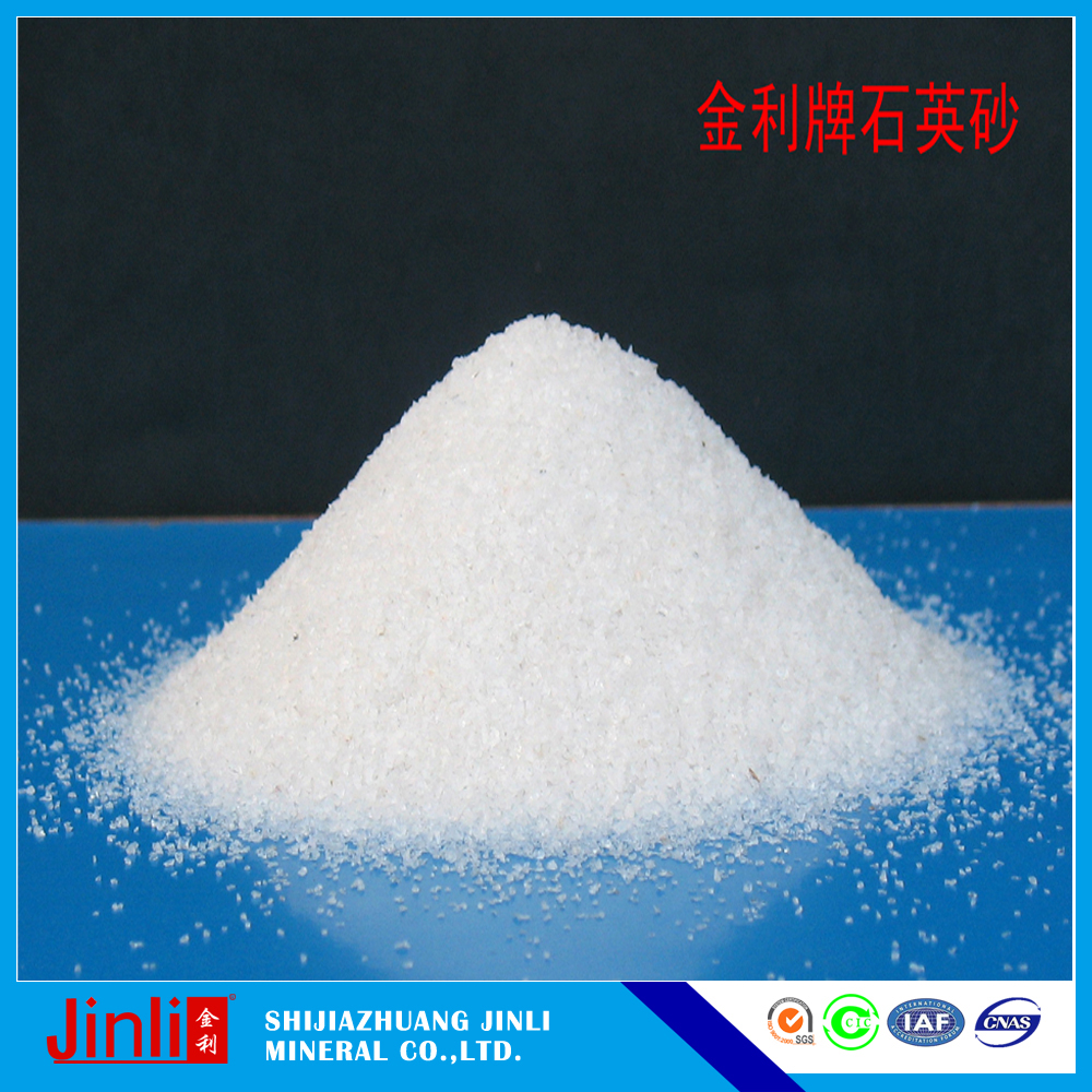 Refractory Material Glass Ceramic Products Materials Quartz Sand Price