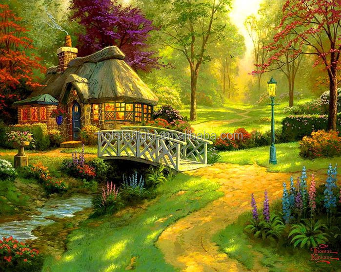 Beautiful scenery artwork