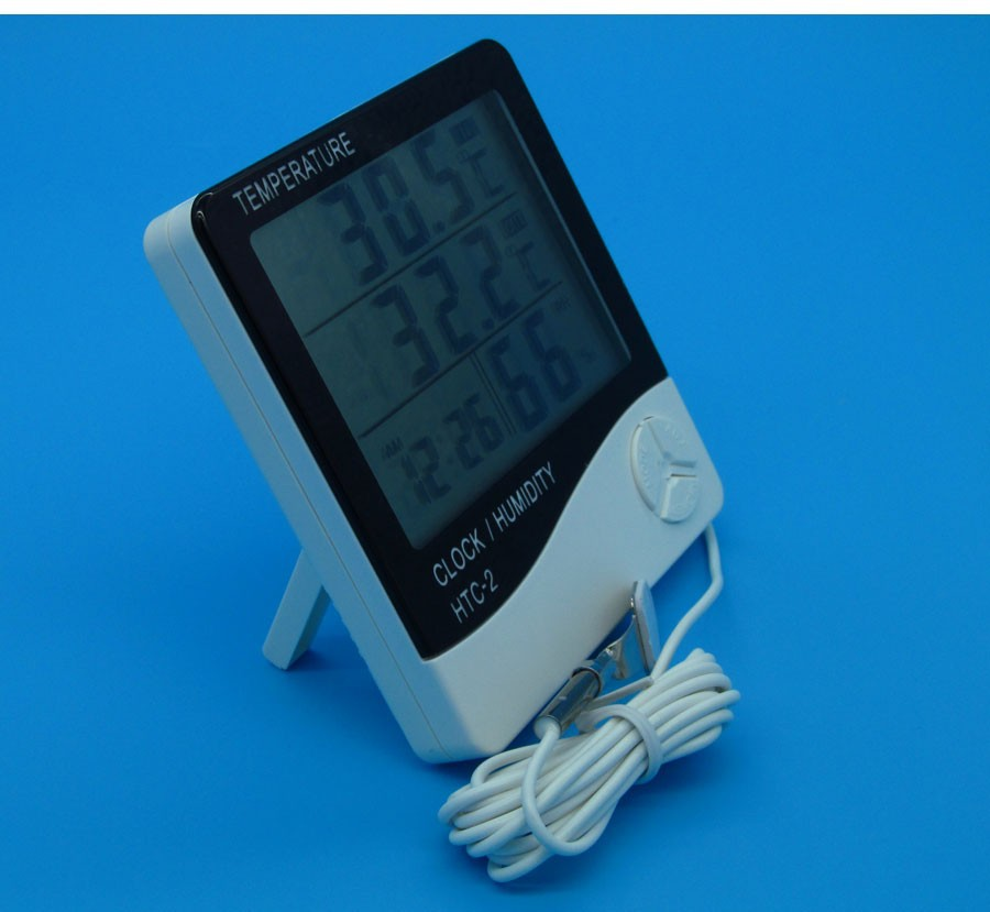 Htc 2 Lcd Digital Thermometer Hygrometer Electronic