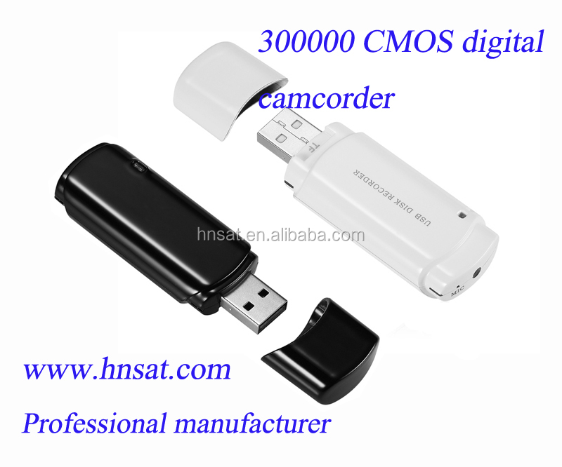 Shenzhen Hnsat Hidden digital video camcorder UC-10 support 25 hours continous vocie recording and 4.5 hours video recording