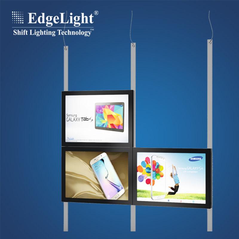 Back To Search Resultslights & Lighting Commercial Lighting Gentle Black Snap Frame Led Edgelit Menu Light Boxes A2 Advertising Led Menu Signages For Restaurant