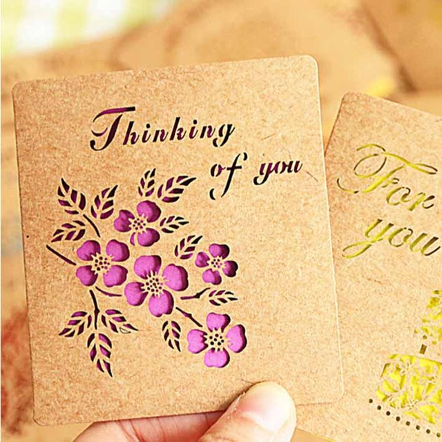 Buy cheap china kraft greeting card print products find china kraft custom printing kraft paper card for party invitation festival greeting wholesale m4hsunfo