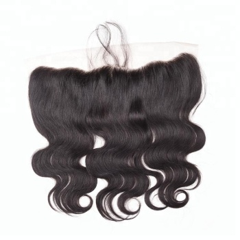 New arrival raw indian temple hair lace frontal hair pieces free parting lace closure
