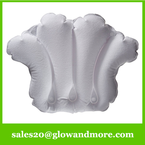 High Quality Inflatable Bath Pillow for luxurious bath pillow