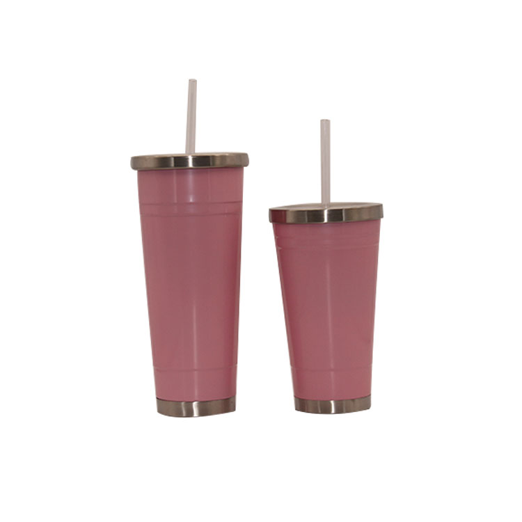 Wholesale 20Oz Stainless Steel Tumbler With Straw