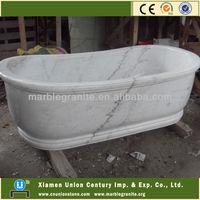 Guangxi White Marble Bath Tub