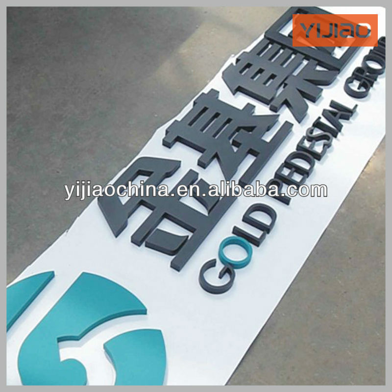 large metal alphabet letters and numbers Manufacturer