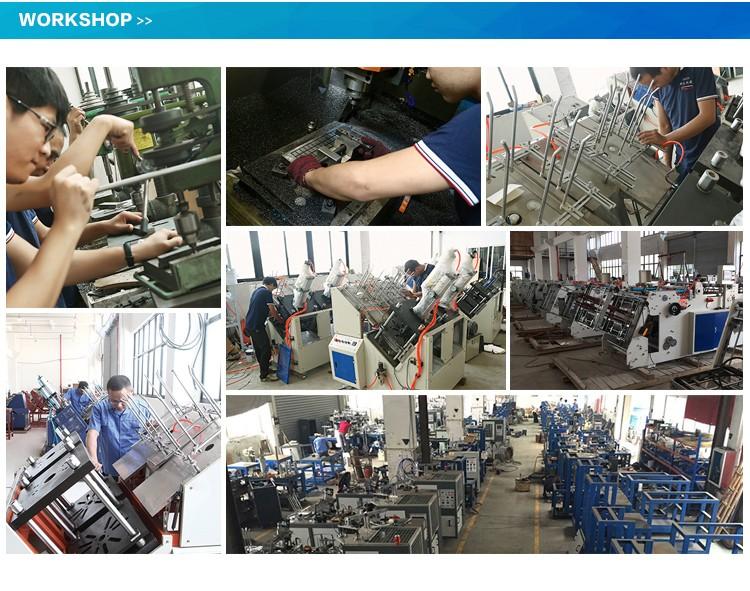Çin'de yapılan Son Ürünler Teknoloji Ekipmanları Parti kağıt kahve bardağı kapak yapma makinesi Model PC125 Sertifika Ile