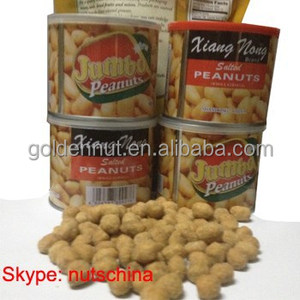 coated peanuts in can