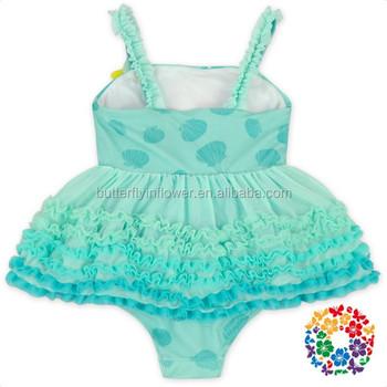 8cb50e2202a0cc Hot Koop Pretty Leuke Jonge Meisjes Bikini Een Stuk Badpak Kids Badmode