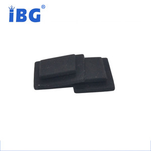 Custom molded different types of rubber friction gaskets