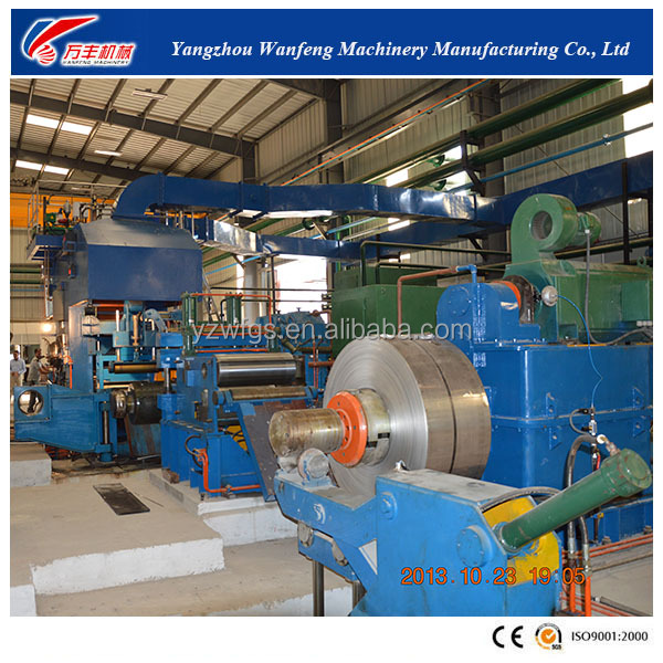 Reversible 4 high Cold Rolling Mill Manufacturing Machine