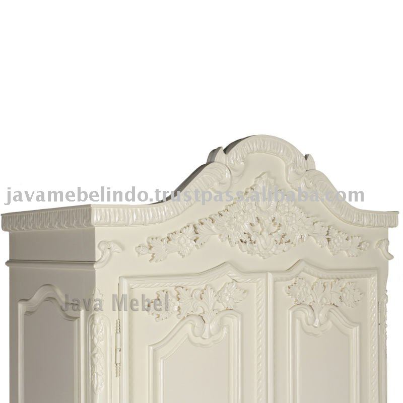 FRENCH STYLE FURNITURE OF DETAIL WARDROBE