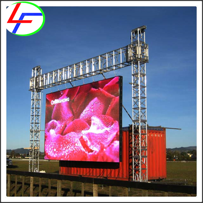 die-casting alminum top selling products in alibaba led board P6 led display module